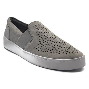 Vionic Kani Grey Slip-On Walking Shoes, 7.5M US